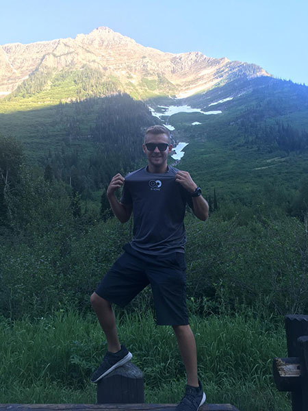 #BeActive at Glacier National Park in Montana
