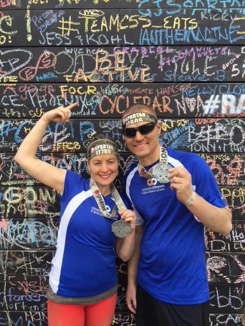 #BeActive at the Spartan Race