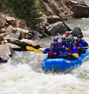 #BeActive White Water Rafting