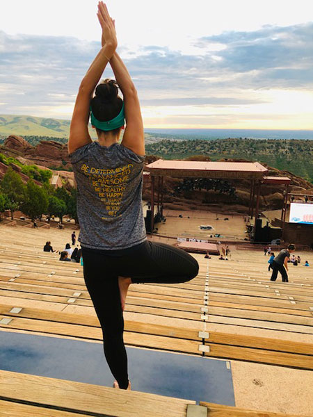 #BeActive for the sunrise at Red Rocks.