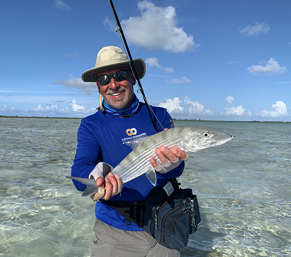 Dr. John Papilion being active in the Bahamas.