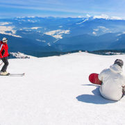 Snowboarder vs skier ankle injuries